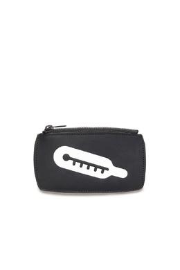 Черный кожаный кошелек Maison Margiela 1350165508