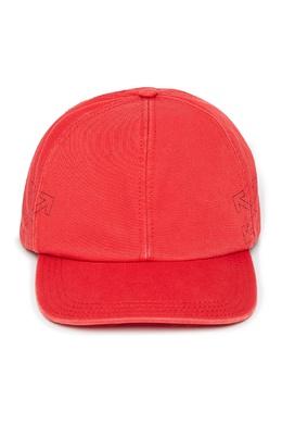 Красная бейсболка с логотипами Off-White 2202165948