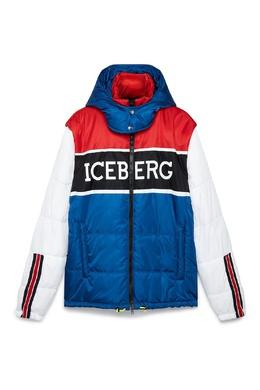 Куртка с контрастными блоками Iceberg 1214165973