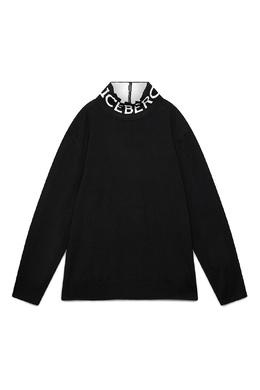 Черный свитер с логотипом Iceberg 1214165977