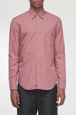 Розовая рубашка с накладным карманом Maison Margiela 1350165571