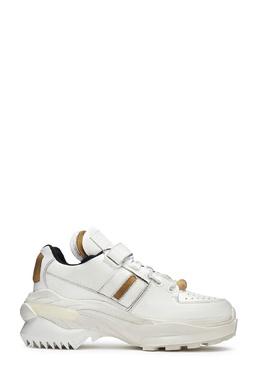 Белые кроссовки с застежкой-велкро Maison Margiela 1350165964