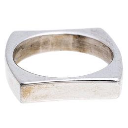 Saint Laurent Paris Sterling Silver Ring Size 52 245816