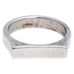 Saint Laurent Paris Sterling Silver Ring Size 52 245818