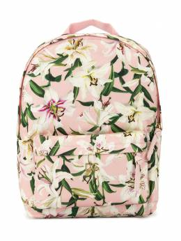 Dolce & Gabbana Kids рюкзак с цветочным принтом EB0078AA664
