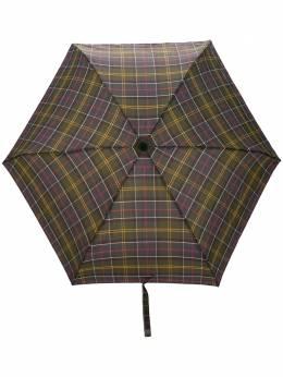 Barbour зонт Portree в клетку тартан LAC0084