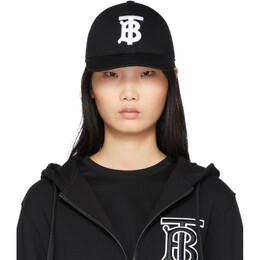 Burberry Black Logo Baseball Cap 201376F01627402GB