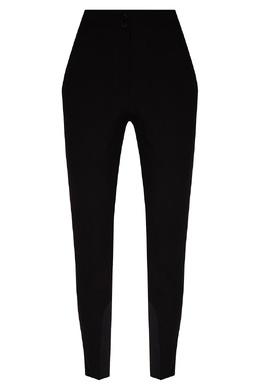Черные брюки из трикотажа со шнуровкой Etro 907146334