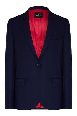 Синий жакет из шерсти Paul Smith 1924156867