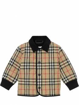 Check Nylon Quilted Jacket Burberry 71I937001-QTcwMjY1