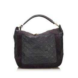Louis Vuitton Navy Blue Monogram Empreinte Leather Audacieuse MM Bag 236976