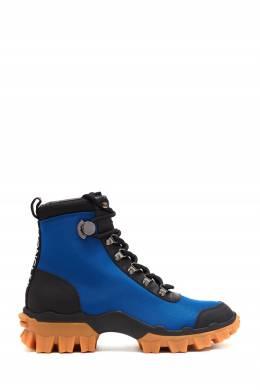 Черно-синие ботинки Helis Moncler 34166351