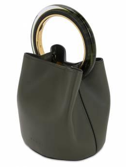 Pannier Sac Smooth Leather Bag Marni 71IVW4009-MDBWNTk1