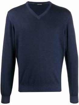 Tagliatore свитер Mick с V-образным вырезом MICK515GSI1909