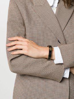 Tory Burch эмалированный браслет-бэнгл с логотипом 41872