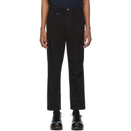 Ksubi Black Kraft Cargo Pants 201088M18803801GB