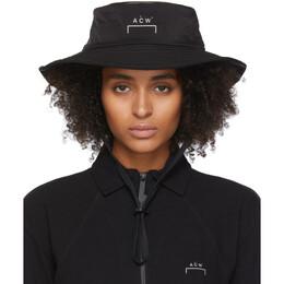 A-Cold-Wall* Black Bucket Hat ACW-MF19-ZBC