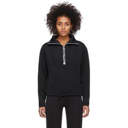 Nike Black Crop Mock Neck Sweatshirt 201011F09700902GB