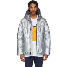 Nike Silver Down Sportswear Jacket 201011M17809904GB