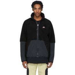 Nike Black Sherpa Jacket 201011M18011403GB