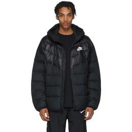 Nike Black Down Windrunner Jacket 201011M17809604GB