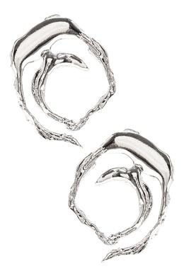 Круглые серьги с расплавленным эффектом Lisa Smith 1168166040