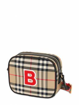 Check Nylon Shoulder Bag Burberry 71I1US019-QTcwMjY1