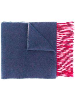N.peal двусторонний кашемировый шарф NPA674