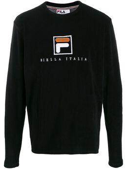 Fila махровая толстовка с вышитым логотипом NICOLO
