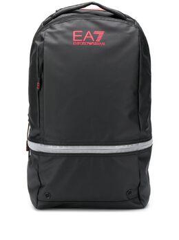 Ea7 Emporio Armani raised logo backpack 2758769A801
