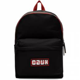 Hugo Black Record Backpack 201084M16604001GB