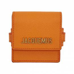 Jacquemus Orange Le Sac Bracelet Pouch 192553F02000401GB