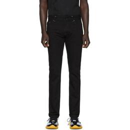 Fendi Black Micro FF Jeans FLP201 AAHB