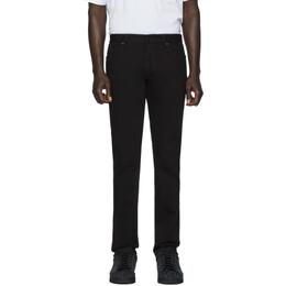 Fendi Black FF Velvet Tape Jeans FLP201 AAHJ
