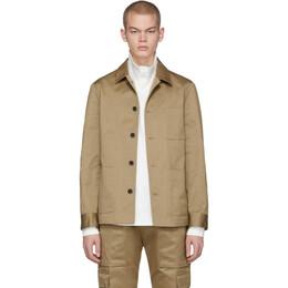 Barena Beige Valera Overshirt Jacket 201313M18001803GB