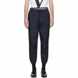 Barena Navy Scaleter Trousers 201313M19100705GB