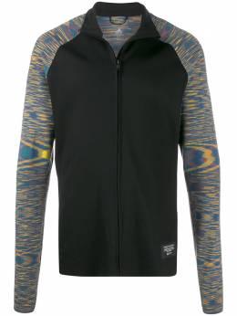 Adidas куртка с контрастными рукавами DY2019