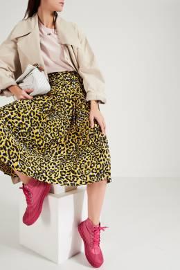 Розовые высокие ботинки Les Meuniers Jacquemus 2985166657