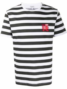 Loewe embroidered dodo striped T-shirt H6109650CR