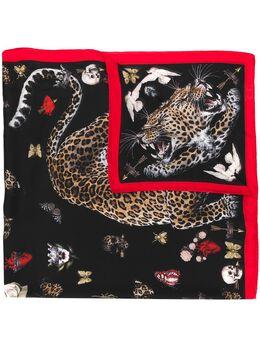 Alexander McQueen платок с принтом 6109543011Q
