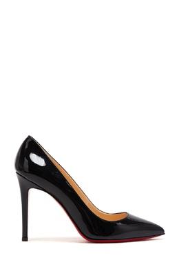 Туфли из лакированной кожи Pigalle 100 Christian Louboutin 10632026
