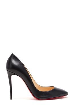 Черные кожаные туфли Eloise 100 Christian Louboutin 10683727
