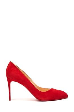 Красные кожаные туфли Corneille 85 Christian Louboutin 106106684