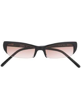 Vivienne Westwood солнцезащитные очки в узкой оправе VW105S01