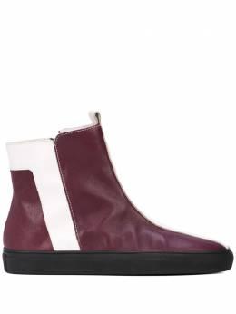 Alberto Fermani striped ankle boots AF19I60140273A501