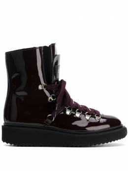 Kenzo ботинки Alaska с меховой отделкой F862BT301L64