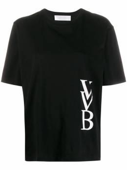 Victoria, Victoria Beckham футболка с логотипом 2120JTS000839A