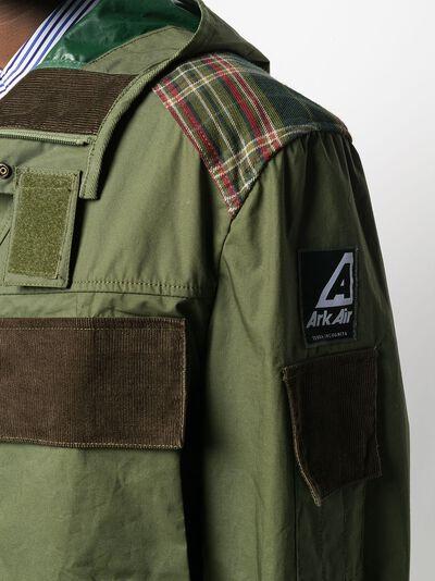 непромокаемая куртка с капюшоном WDJ9011001 - 5