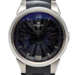 Perrelet Black Turbine Stainless Steel Automatic Men'S Watch 44MM 248137