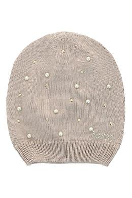 Вязаная шапка с бусинами Liu Jo 1776167557